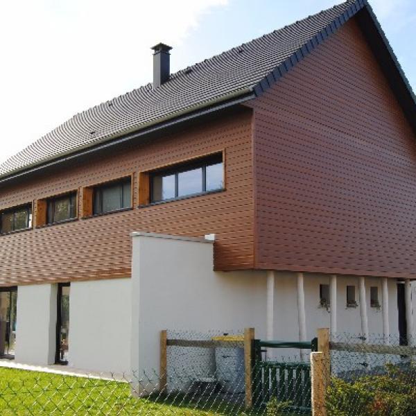 Construction d'une maison contemporaire d'architecte en Normandie